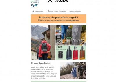 E-mail nieuwsbrief Vaudetassen.nl