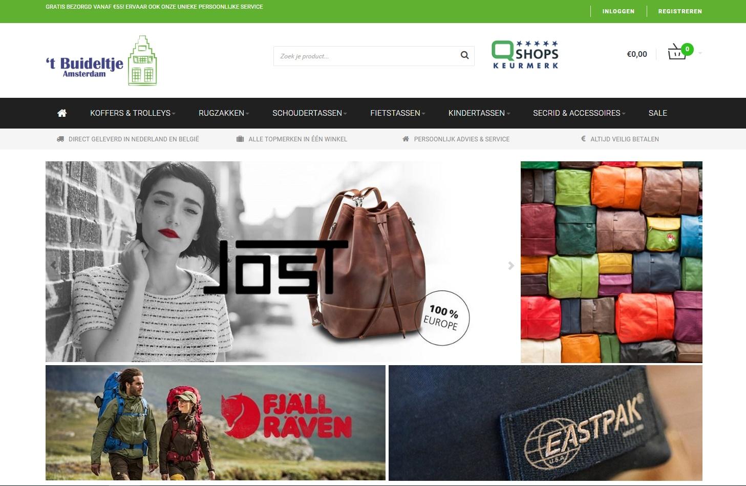 Webshop maken Buideltje.nl